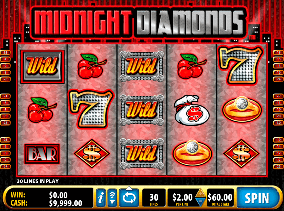 midnight diamonds bally slot machine