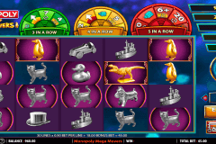 monopoly mega movers wms slot machine