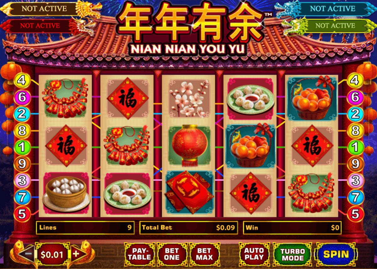 nian nian you yu playtech slot machine