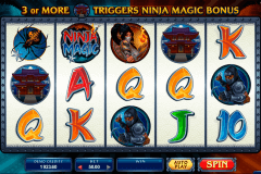 ninja magic microgaming slot machine