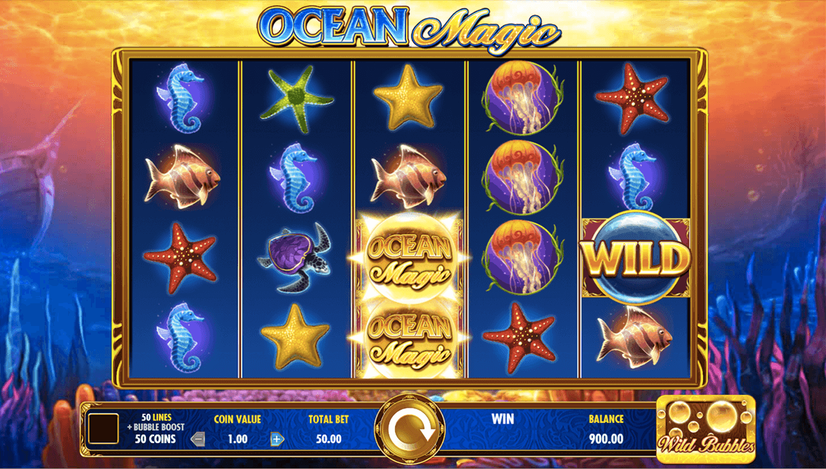 ocean magic igt slot machine