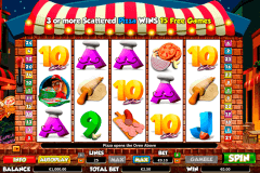 pizza prize netgen gaming slot machine