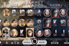 planet of the apes netent slot machine