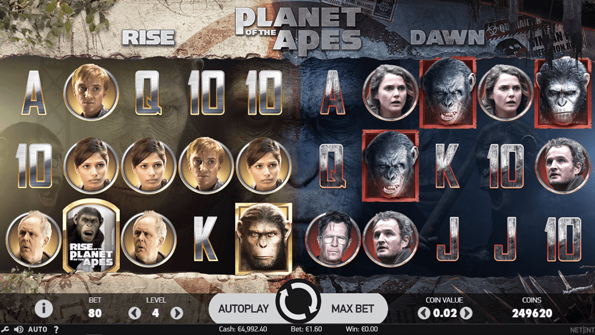 planet of the apes casino slot