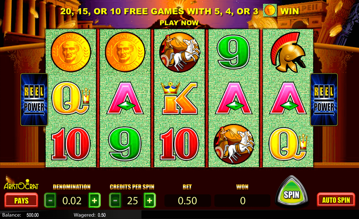 Free Video Slot Games Online