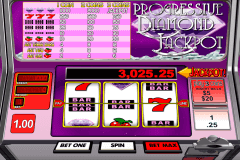 progressive diamond jackpot betsoft slot machine