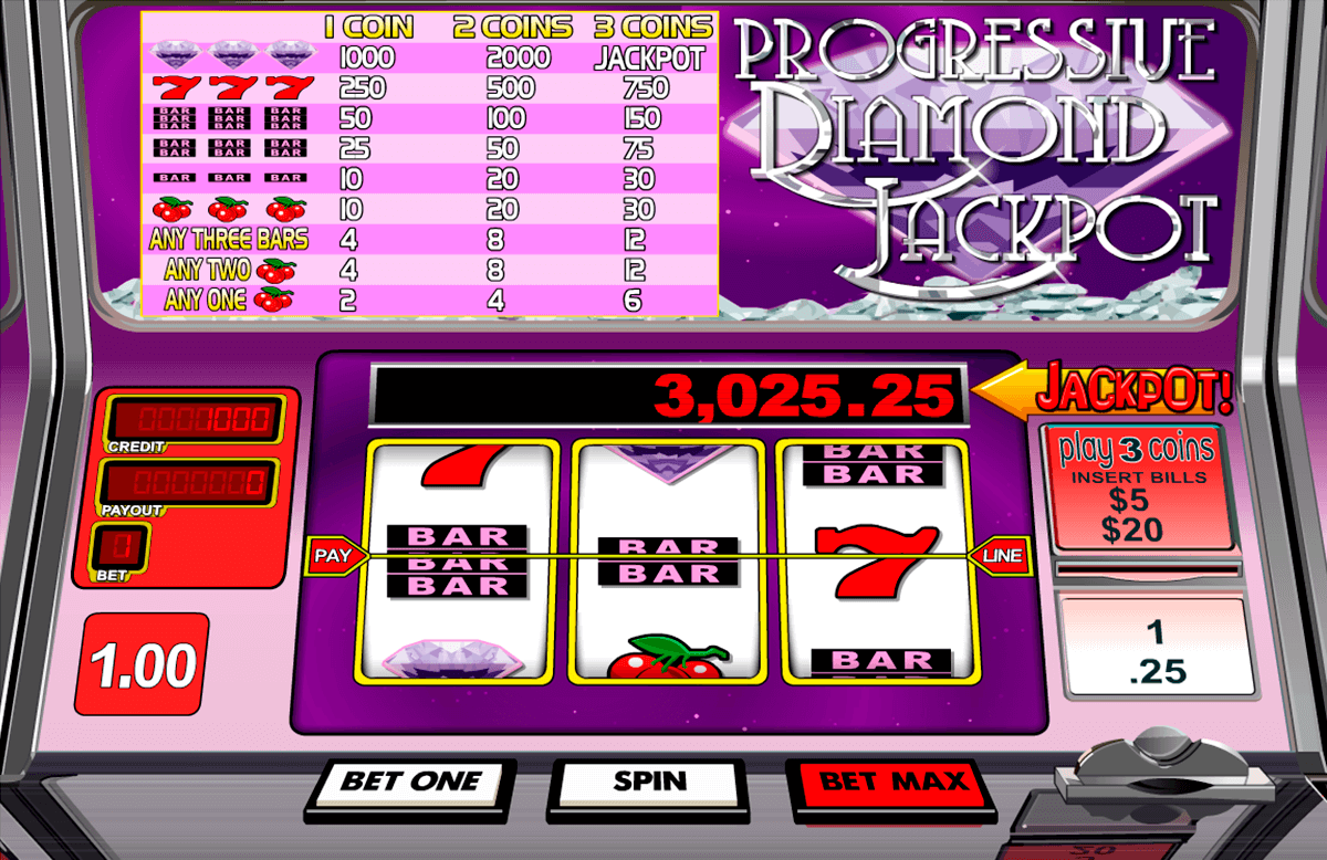 Diamond Lotto Slot Machine Online