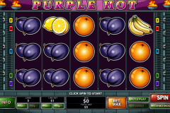 purple hot playtech slot machine