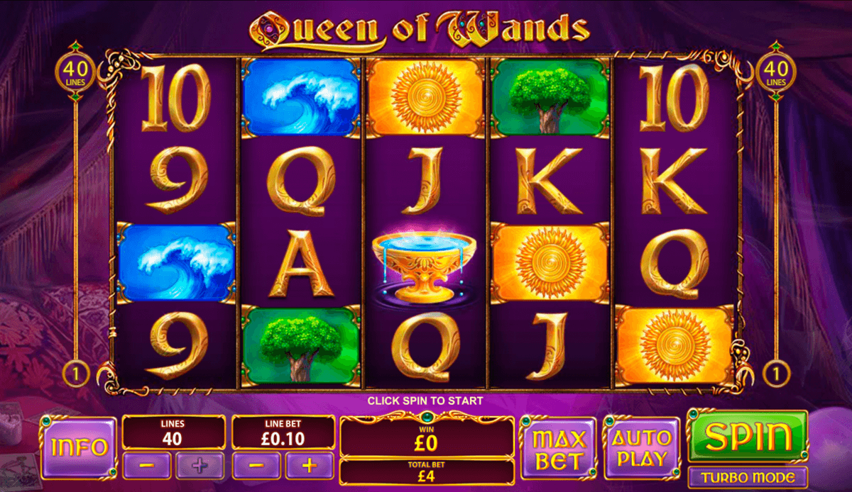 queen of wands playtech slot machine