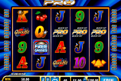 quick hit pro bally slot machine