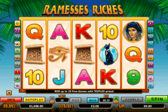 ramesses riches netgen gaming slot machine