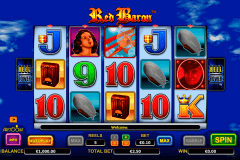 red baron aristocrat slot machine