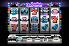 retro reels diamond glitz microgaming slot machine