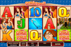 rhyming reels georgie porgie microgaming slot machine