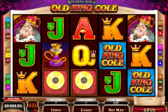 rhyming reels old king cole microgaming slot machine