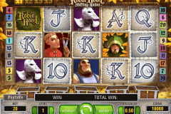 robin hood netent slot machine