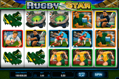 rugby star microgaming slot machine