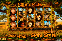 safari sam betsoft slot machine