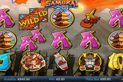 samurai split netgen gaming slot machine