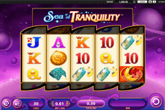 sea of tranquility wms slot machine