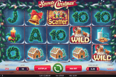 secrets of christmas netent slot machine
