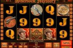 sherlock mystery playtech slot machine