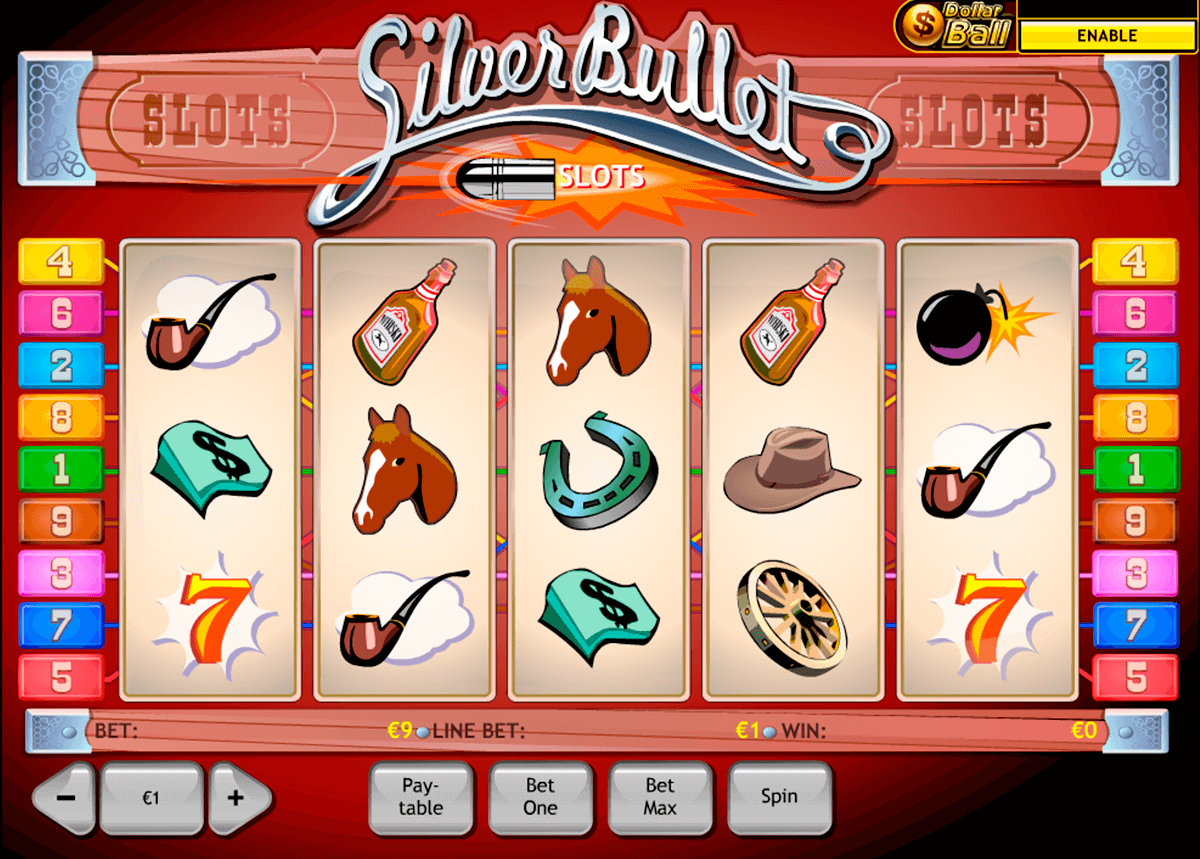 silver bullet playtech slot machine