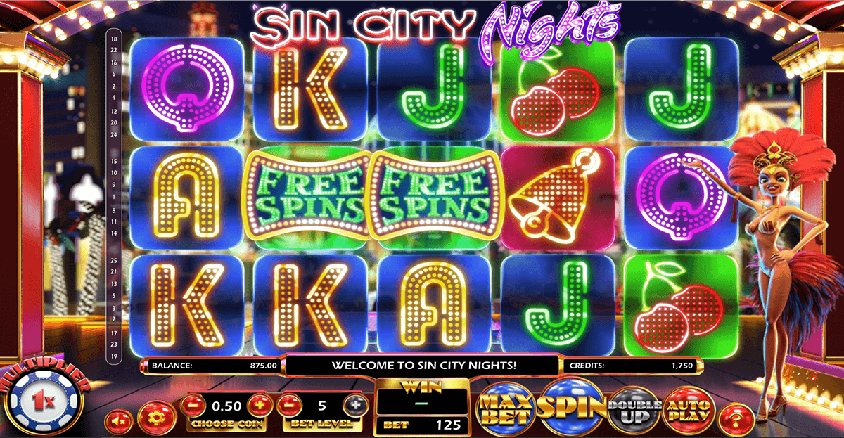 Spiele Sin City Nights - Video Slots Online
