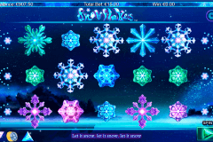 snowflakes netgen gaming slot machine