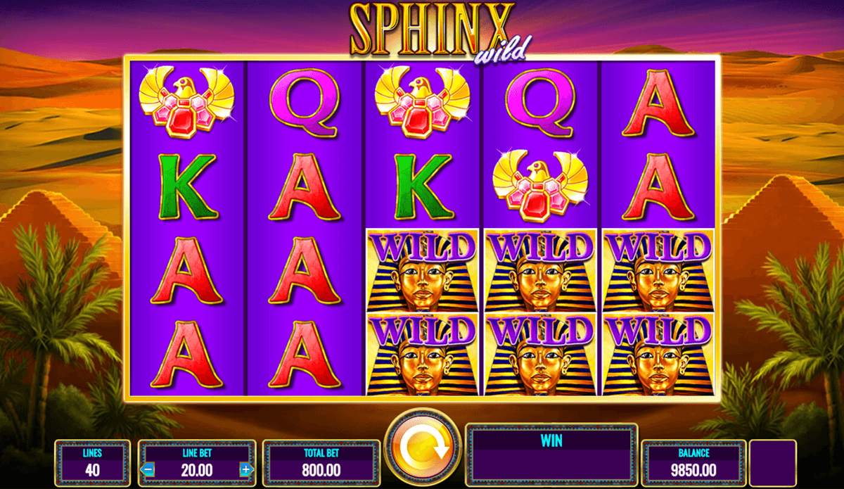 Sphinx Slot Machine