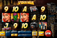 spider man attack of the goblin playtech slot machine