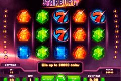 starburst netent slot machine