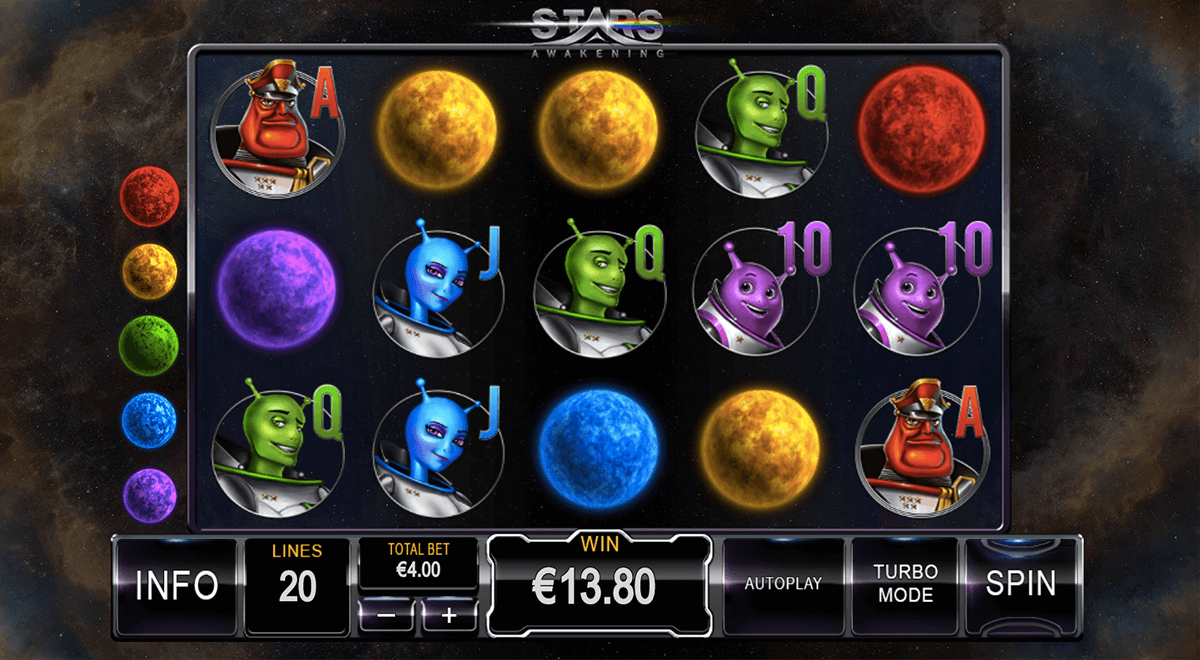 stars awakening playtech slot machine