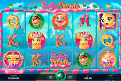 sugar parade microgaming slot machine