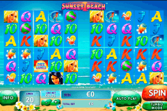 sunset beach playtech slot machine