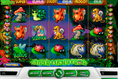 super lucky frog netent slot machine