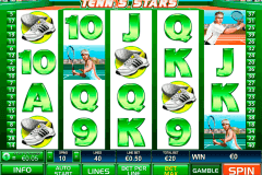 tennis stars playtech slot machine