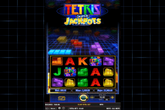 tetris super jackpots wms slot machine