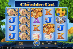 the cheshire cat wms slot machine
