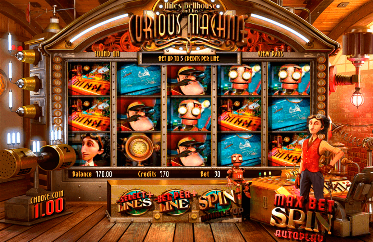 Spiele The Courious Machine - Video Slots Online