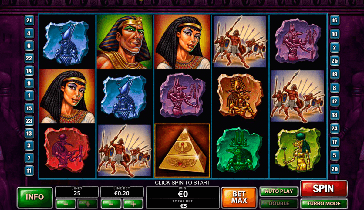 Play The Pyramid of Ramesses Online Slot at Casino.com UK