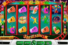 thrill spin netent slot machine