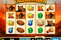 thunderhorn bally slot machine
