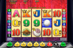 tiki torch aristocrat slot machine