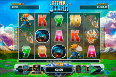 titan storm netgen gaming slot machine