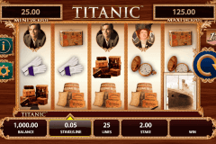 titanic bally slot machine