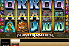 tomb raider microgaming slot machine