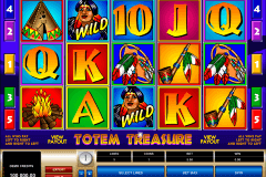 totem treasure microgaming slot machine