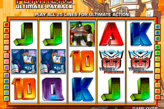 transformers ultimate payback igt slot machine