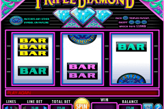 triple diamond igt slot machine